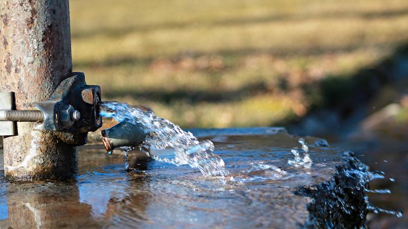 maîtriser les fuites des réseaux d'eau