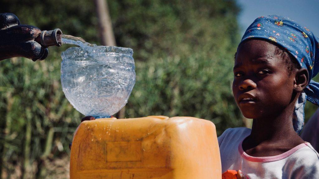 marché de l'eau potable en Afrique