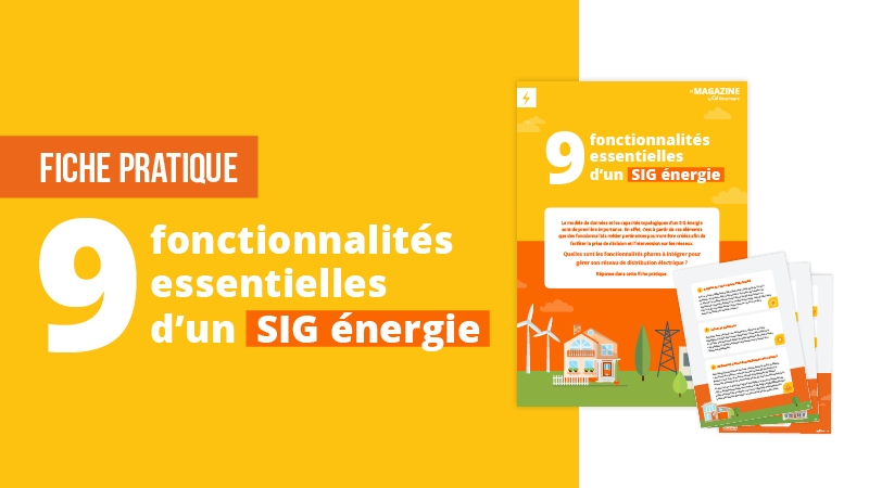 fonctionnalités du SIG énergie