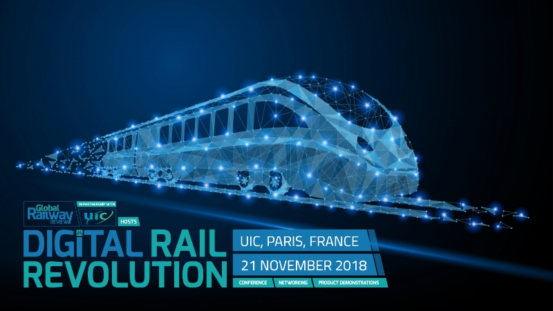 GiSmartware sponsor du Digital Rail Revolution 2018