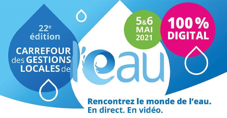 Carrefour des gestions locales de l'eau - 2021
