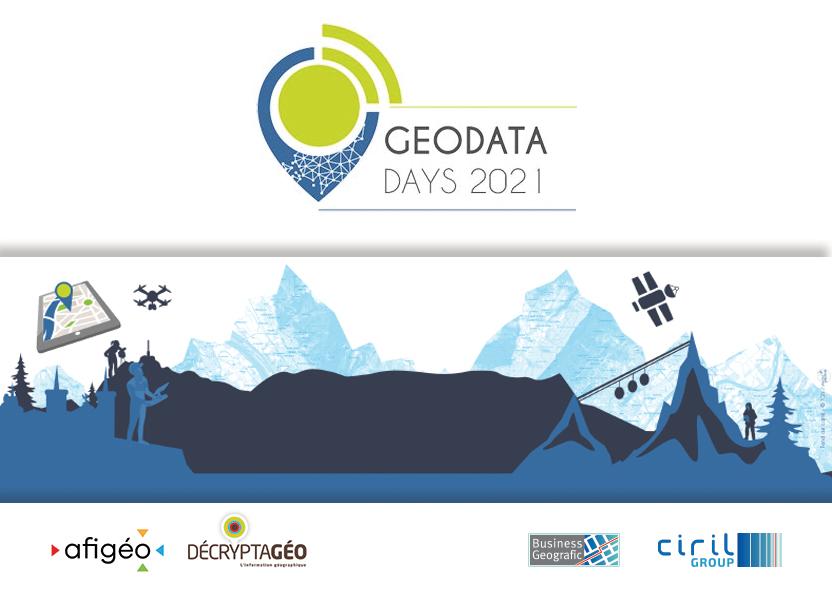 GéoDataDays - septembre 2021